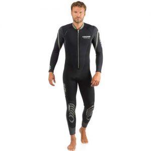 Cressi Men's Front-Zip Full Wetsuit for Water Activities