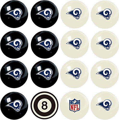 Officially Licensed NFL Home vs. Away Team Billiard/Pool Balls