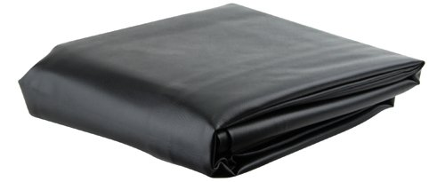 Black 7' Heavy Duty Leatherette Pool Table Cover