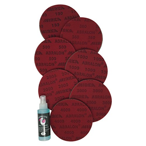 Sanding Pads Resurfacing Kit_Set Includes All 7 Grits