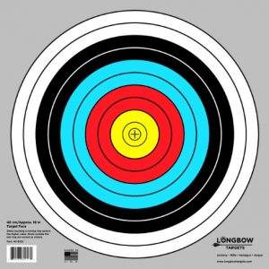 Archery 40cm & 80cm Targets by Longbow