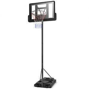 Giantex Portable Basketball Hoop System In-Ground Base NBA Outdoor