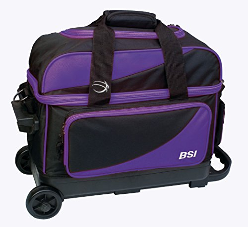BSI Nova Black//Navy Blue 1 Ball Bowling Bag