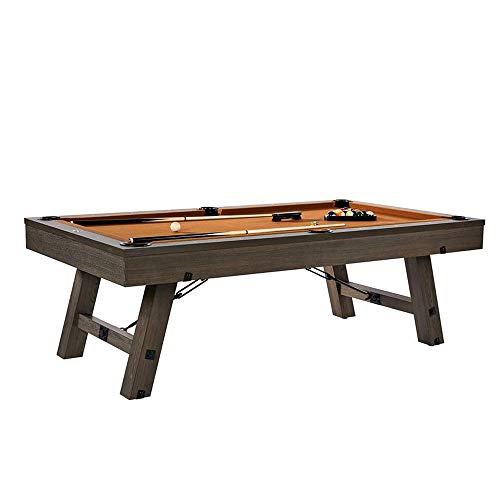 Lancaster 96 Inch Premium Wooden Billiard Table w/Accessories