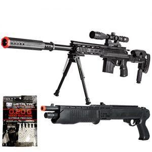 BBTac Airsoft Sniper Gun Package Starter Pack