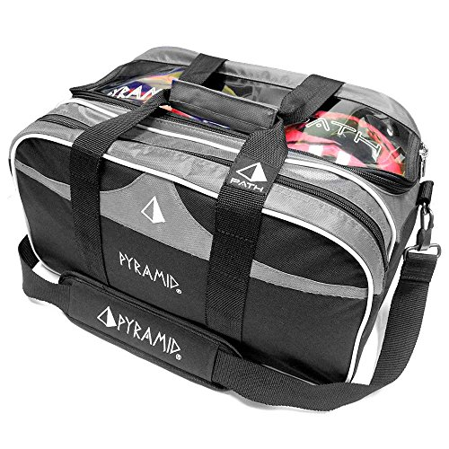 Pyramid Path Double Tote Plus Clear Top Bowling Bag