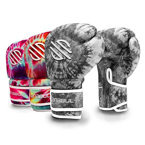 Tie Dye Gel Boxing Kickboxing Training Gloves