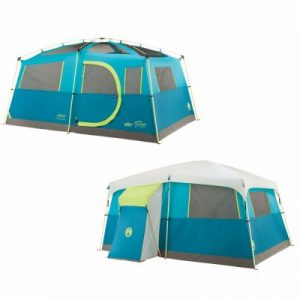 Tenaya Lake Lighted Fast Pitch Cabin Tent