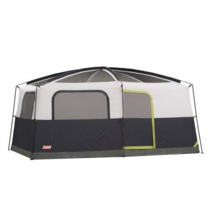 9 Person WeatherTec Camping Tent w/Fan & Light