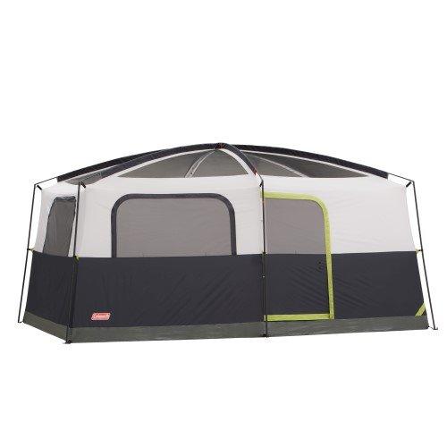 9 Person WeatherTec Camping Tent w/Fan & Light
