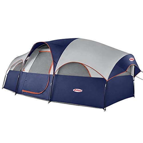 TOMOUNT 8-Person Tent - Easy & Quick Setup Camping Tent