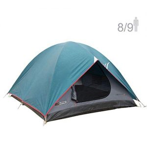 8 to 9 Person 10 by 12 Foot Outdoor Dome Family Camping Tent