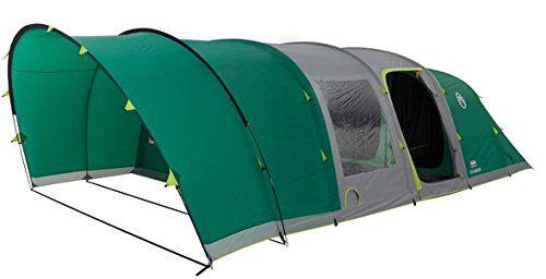 Coleman 6 Man Fastpitch Air Valdes Tent XL - Green