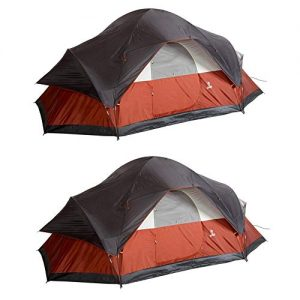 8 Person 17 x 10 Foot Outdoor Camping Large Tent