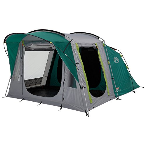 Coleman Oak Canyon 4 Tunnel Tent - 4 Person, Green, with Blackout Windows