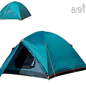 NTK Colorado GT 8 to 9 Person 10 by 12 Foot Outdoor Dome Family Camping Tent