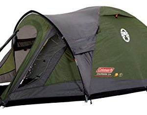 Coleman Darwin Plus 2 Man Dome Tent - Green/Grey