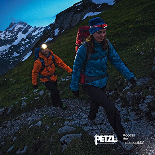 PETZL - REACTIK+ Headlamp, 300 Lumens, Bluetooth Enabled
