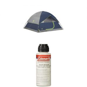 Coleman Sundome 6-Person Dome Tent with Seam Sealer, 2-oz