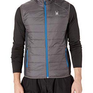 SPYDER Men's Glissade Waterproof Insulated Vest for Winter Sport