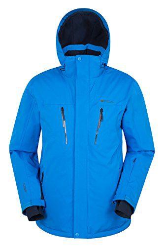 Mountain Warehouse Galactic Extreme Mens Ski Jacket - Warm Winter Snowboarding Coat