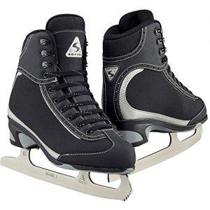 Jackson Ultima Softec Vista ST3200 Figure Ice Skates for Women/Color: Black, Size: Adult 10