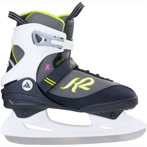 K2 Skate Women's Alexis Ice Skate, Black Lavendar, 9