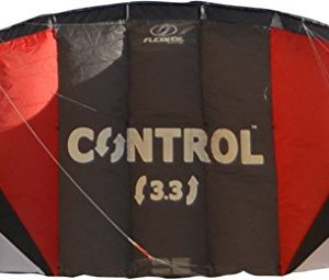 FLEXIFOIL 1.7m2 / 2.4m2 / 3.3m2 Control Kitesurf Trainer Kite inc. Bar and Lines