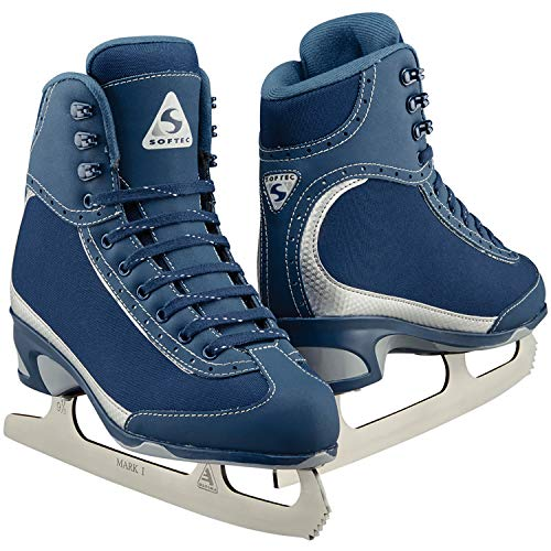 Jackson Ultima Softec Vista ST3200 Figure Ice Skates for Women/Color: Navy, Size: Adult 9