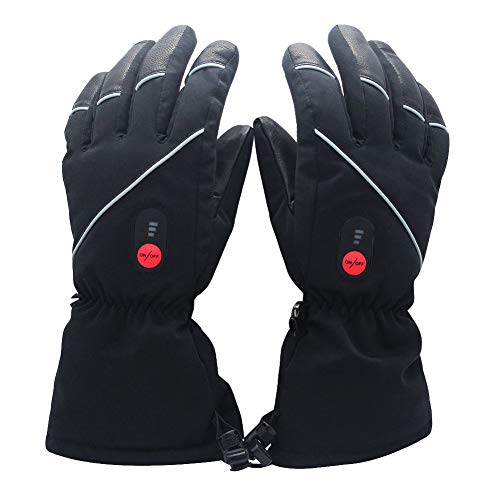 Savior Heated Gloves for Men Women, Electric Heated Gloves,Heated Ski Gloves
