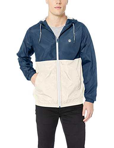 Volcom Men's Volco Ermont Hooded Windbreaker Jacket