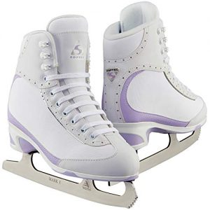 Jackson Ultima Softec Vista ST3200 Figure Ice Skates for Women/Color: White, Size: Adult 7