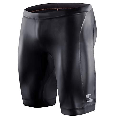Synergy Triathlon Wetsuit Buoyancy Shorts Men's EpicSpeed Neoprene Shorts for Open Water Swimming