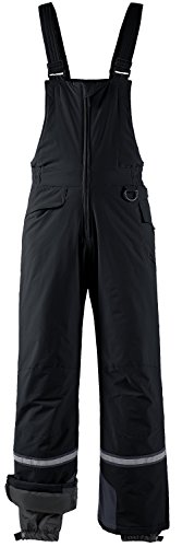 Wantdo Men's Waterproof Ski Pants Insulated Warm Snow Bibs Winter Overalls