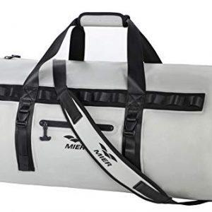 MIER Waterproof Dry Duffel Bag Airtight TPU Dry Bag for Motorcycle, Kayaking, Rafting, Skiing, Travel, Hiking, Camping