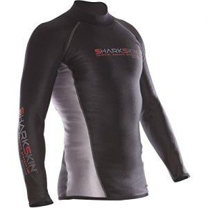 Sharkskin Men's Chillproof Long Sleeve Shirt Wetsuit