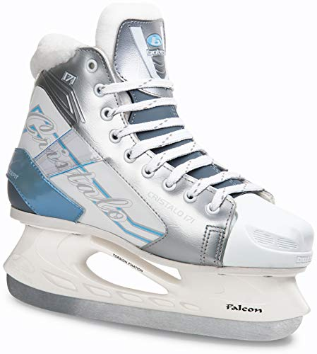 Botas - CRISTALO 171 - Women's Ice Skates | Made in Europe (Czech Republic) | Color: Black or White