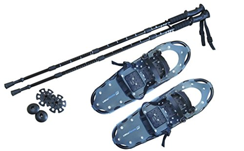 Swagman Snowshoes X-Large with Trekking Poles- Best Snowshoes Proform Snow Shoes, Snowshoeing Gear