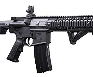 DPMS Full Auto SBR CO2-Powered BB Air Rifle with Dual Action Capability, Black DSBR