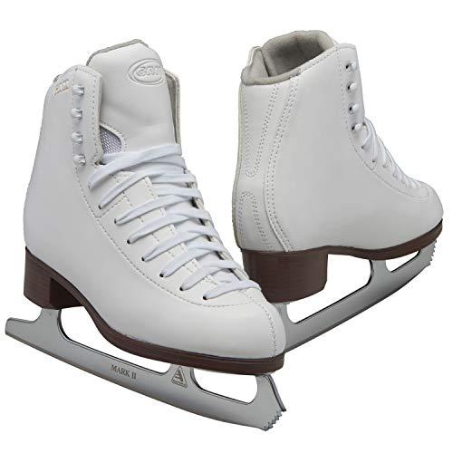 Jackson Ultima GAM Pirouette Womens and Girls White Figure Ice Skates