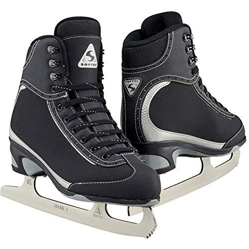 Jackson Ultima Softec Vista ST3201 Figure Ice Skates for Girls/Color: Black, Size: Youth 12