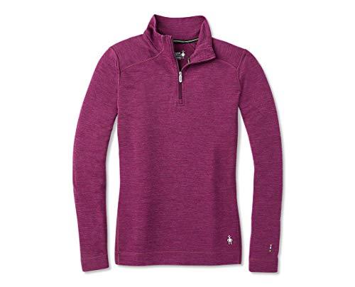 Smartwool Women's Base Layer Top - Merino 250 Wool Active 1/4 Zip Outerwear