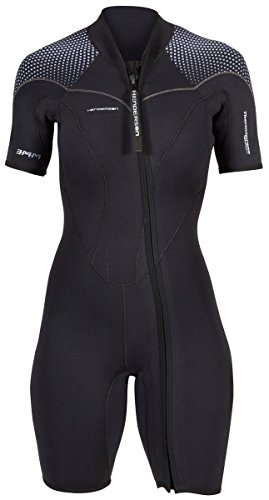 Henderson Women's 3mm Thermoprene Pro Front Zip Shorty Wetsuit