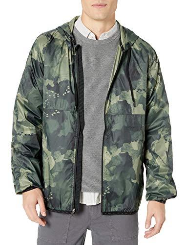 RVCA Men's Hexstop Iv Windbreaker Jacket