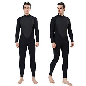 Realon Wetsuit Men Full 3mm Surfing Suit Shorty 3/4mm, 4/5mm Scuba Diving Suit Snorkeling Swimming Jumpsuit