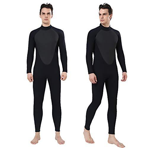 Realon Wetsuit Men Full 3mm Surfing Suit Shorty 3/4mm, 4/5mm Scuba Diving Suit Snorkeling Swimming Jumpsuit
