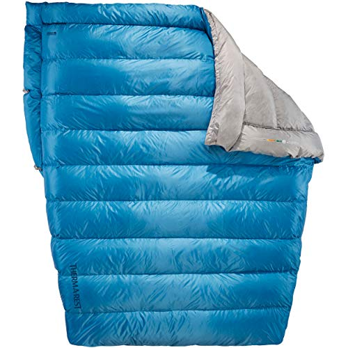 Therm-a-Rest Vela 2-Person 32-Degree Puffy Down Camping Quilt (2019 Model)