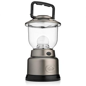 Cascade Mountain Tech LED Lantern - 1000 Lumens, Dimmable, Battery Operated, with USB Charging Port, Ideal for Outdoors, Camping, and Emergencies