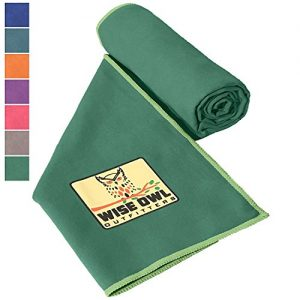Wise Owl Outfitters Camping Towel & Gym Towels - Ultra Soft Compact Quick Dry Microfiber Best Fast Drying Fitness Beach Hiking Yoga Travel Sports Backpacking
