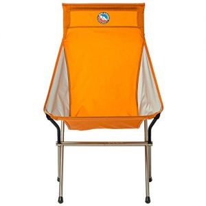 Big Agnes Big Six Camp Chair - High & Wide Camping Chair with Aircraft Aluminum Frame